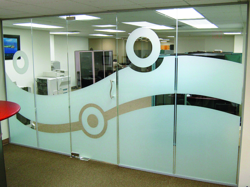 Glass Partition Door Vapore